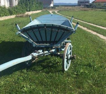 Chariot à en bois 1940 3
