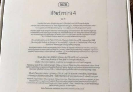 iPad Mini 4 Retina16 Go 3