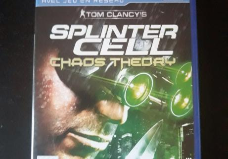 Splinter cell chaos theory sur PS2 1