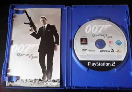 James Bond: Quantum Of Solace PS2 2