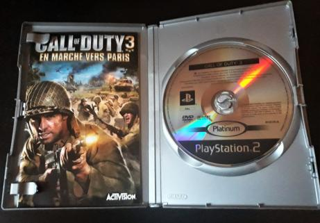 Call of Duty 3 En marche vers Paris sur PS2 2