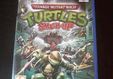 Teenage Mutant Ninja Turtles - Smash Up sur PS2 1