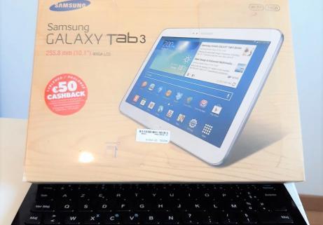 """Samsung Galaxy Tab 3 - 10,1"""" 16 Go - Wifi - Blanc 5"""