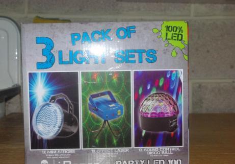 stroboscope , laser, boule à facette, Party Led 100 2