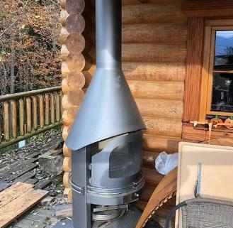 Barbecue cheminée jardin 2