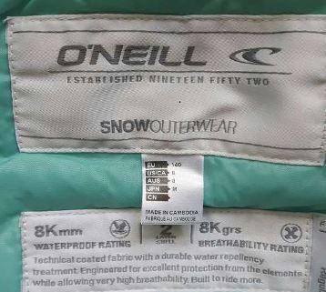 Combinaison de ski fille O'Neill T. 140 2