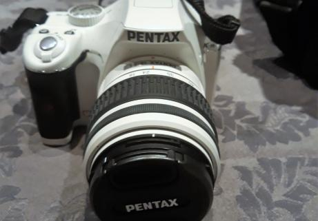 Appareil Photo Pentax K-M Blanc REFLEX 2