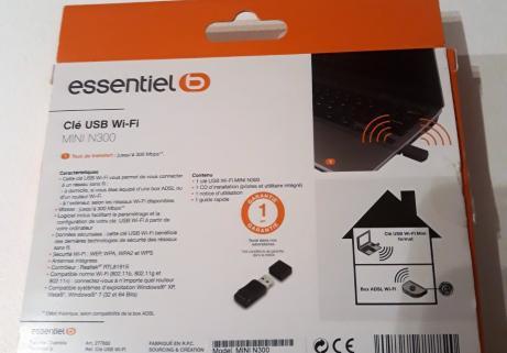 Clé USB WIFI Mini N300 1