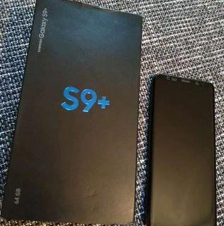 SAMSUNG GALAXY S9 PLUS 1
