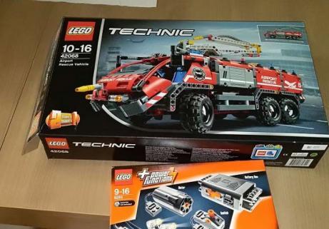 Lego Technic pompiers 1