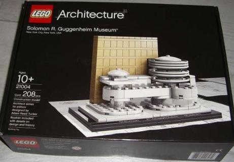 LEGO 21004 Architecture Musée Guggenheim 1