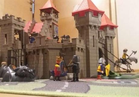Château de chevaliers Playmobil 1