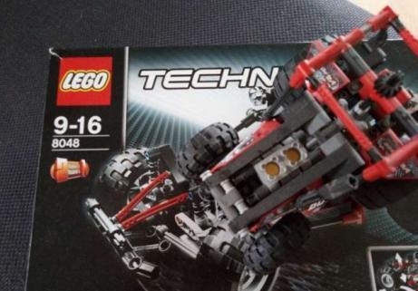 Lego Technic Tracteur 8048 1