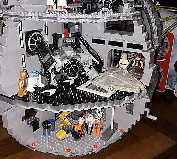 Lego Star Wars Étoile de la Mort 4