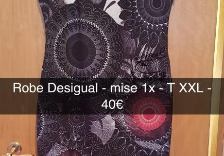 Robe Desigual XXL 1