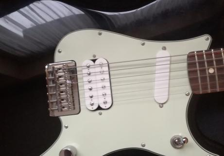 Fender duosonic hs black 1