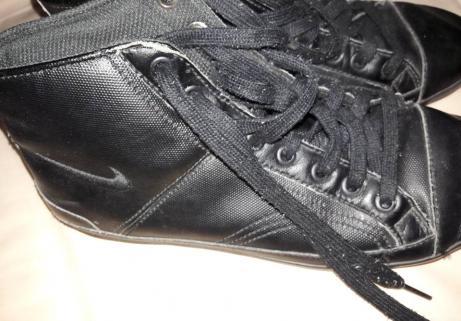 Baskets noires 1