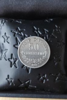 50 centesimi 1963 argent Italie