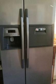 Réfrigérateur américain à double porte