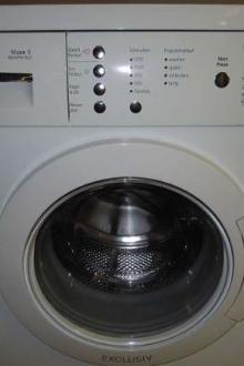 Lave-linge Bosch avec séchoir