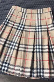 Jupe plissée Burberry