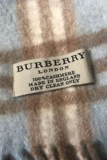 Burberry écharpe en cachemire