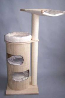 Arbre à chat de taille moyenne avec hamac