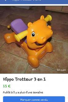 Hippo trotteur
