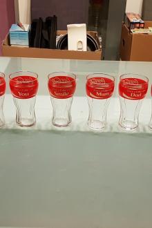 Verres Coca Cola