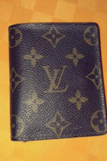 Portefeuille Louis Vuitton cuIr