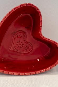 Petits bols en forme de coeur (4)