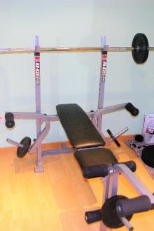 Banc de musculation Nordic Fitness NB-820 + accessoires