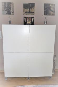 Meuble Blanc 4 portes