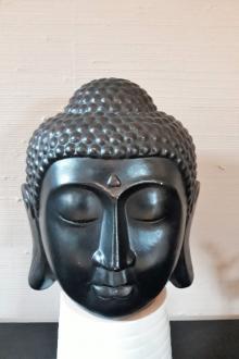 Tête Buddha résine