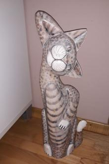 Statue Chat résine