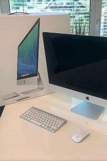 "Apple iMac 27 "", (fin 2013) Intel Core i5 3,2 GHz, DDR3 16 Go, GeForce 1024 Mo, 1 To HD"