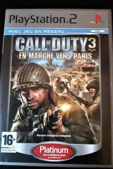 Call of Duty 3 En marche vers Paris sur PS2