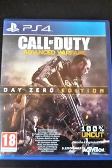 Call Of Duty: Advances warfare (day zero edition) sur PS4