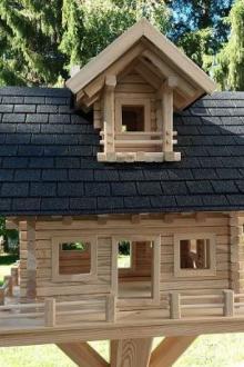 maison pour oiseaux de luxe