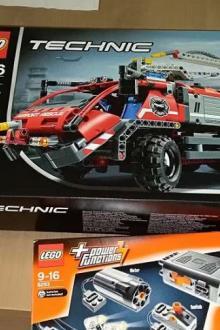 Lego Technic pompiers