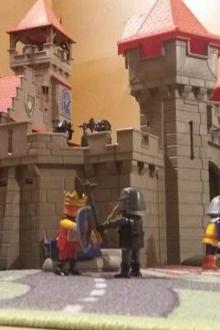 Château de chevaliers Playmobil