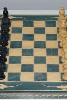 Jeux d'échec fabriqué à la main