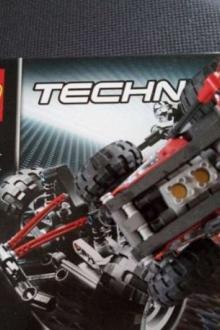 Lego Technic Tracteur 8048